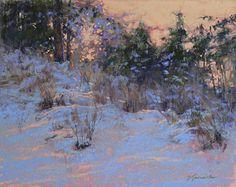 "Afterglow by Barbara Jaenicke Pastel ~ 11"" x 14"""