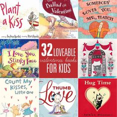 32 Loveable Valentines Books for Kids from www.simpleasthatblog.com. #valentinesday #books #reading