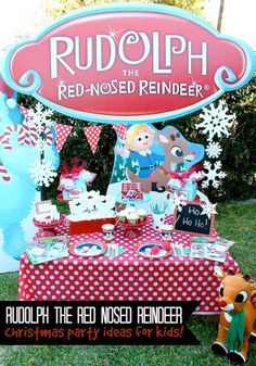 LAURA'S little PARTY: Rudolph The Red Nosed Reindeer | Christmas Party Ideas