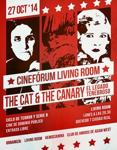 Cinefórum Living Room: The Cat and the Canary