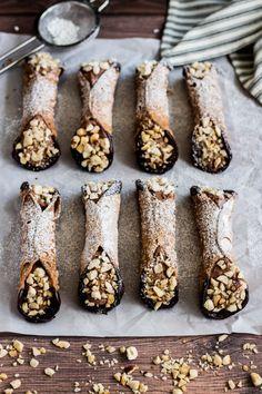 Chocolate-Hazelnut Cannoli                                                                                                                                                                                 More
