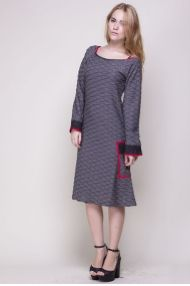 Margot kjole Sewing Projects, Cold Shoulder Dress, Craft, Sweaters, Inspiration, Clothes, Dresses, Fashion, Vestidos