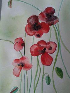 Original watercolor by Cori https://www.facebook.com/CoriAsens/