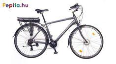 """Nagyon megbízható modell akár a mindennapi használatra vagy a túrázások során.  A felszereltsége lehetővé teszi a kényelmes és praktikus használatot.    Jellemzői:  - Kerékméret 28""""  - Váz: AL6061 alu nagy teherbírású  - Villa: Merev acél 28""""  - Első fék: Promax V  - Hátsó fék: Promax V  - Hajtómű: ALU 38T  - Hátsó váltó: Shimano TY300 6 SPD (6 sebesség)  - Váltókar: Shimano RS35 Revoshift 6 SPD (6 sebesség)  - Első agy: Bafang 8FUN Agymotor  - Hátsó agy: Quando ALU 36H  - Felnik: HLQC-08A… Trekking, Bicycle, Bicycle Kick, Bike, Trial Bike, Hiking, Bicycles"""