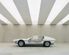 Lamborghini Marzal prototype (1967) / design by Marcello Gandini / photo by Benedict Redgrove ... had this one in red as a toy (Matchbox) .. was my favorite one but then I lost it .. never forgot about it :(