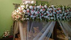 wedding be marriageideas Bed Dressing, Wedding Bed, Bed Ideas, Flower Delivery, Teamwork, Pakistan, Flower Arrangements, Wreaths, Decoration