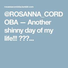 @ROSANNA_CORDOBA — Another shinny day of my life!!! 💛💙💗...