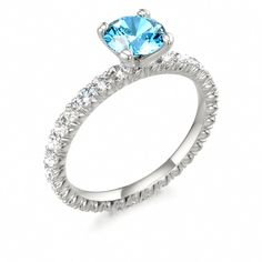 Topaz Engagement Ring FIREWORKS #topaz #engagement #ring