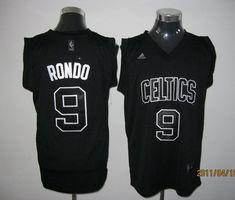 Adidas NBA Boston Celtics 9 Rajon Rondo Black Swingman Jersey Cheap Nba  Jerseys f58a7654f43a