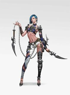 Looks like a human female that was inspired by Dark Eldar wyches.