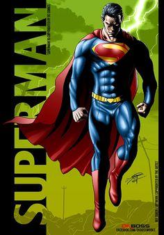 #Superman78 happy #bday to the #God #Superman , #thanksalot for #inspiring #78yrs #dkboss7 #fanart #poster #dccomics #bvs #roadtobvs #whowillwin #dc52 #mos #hope #blackandwhite #redcape #29feb