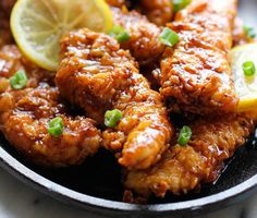 Asian Lemon Chicken Tenders