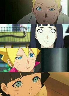 Uzumaki family | Naruto | Hinata | Boruto | Himawari