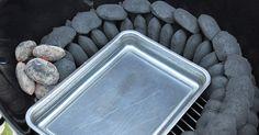 Mit der Minion-Ring Methode kann man einen Kugelgrill oder einen Water Smoker über einen längeren Zeitraum auf konstant niedrigen Temperaturen um 110-120 Grad Celsius betreiben.
