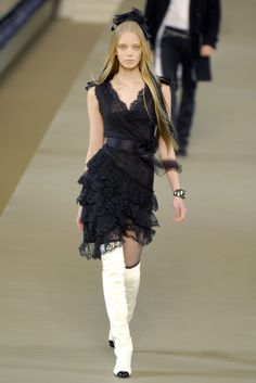 0c9130f113aaa9 Chanel Fall 2006 Black Lace Dress media gallery on Coolspotters. See  photos, videos, and links of Chanel Fall 2006 Black Lace Dress.