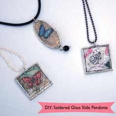 How to Make Solder Jewelry #Pendant at @savedbyloves