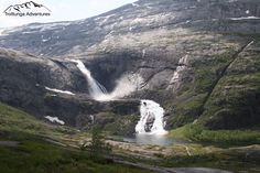 Waterfalls from the first day of the fourdaytrek to The Troll's tongue in Husedalen, Kinsarvik, Hardangervidda. Waterfalls, Troll, Norway, Adventure, Day, Outdoor, Outdoors, Adventure Movies, Outdoor Games