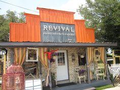 vintage storefronts   Revival - Way Out West Austin