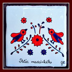 Paloc Hungarian Embroidery, Embroidery Motifs, Textiles, Painted Rocks, Folk Art, Playing Cards, Painting, Inspiration, Hungary