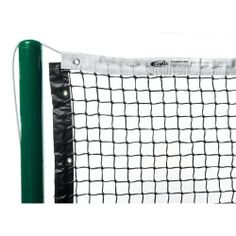 Discover the durable Gamma Premium Polyester Headband Tennis Net and never worry about your court equipment! This Gamma Premium Tennis Net is vinyl coated with steel cable rods. Tennis Nets, Tennis Equipment, Exercise Equipment, Tv Schedule, Champion Sports, Racquet Sports, Vinyl Cover, Galvanized Steel, All In One
