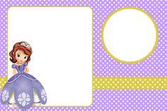 <center>Kit digital grátis para imprimir Princesa Sofia Disney</center> | Montando minha festa