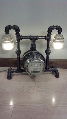 Meter lamp the meter spins too