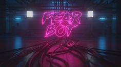Title sequence for the band Fear Bot