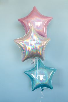 3-Pack Seastar Balloons