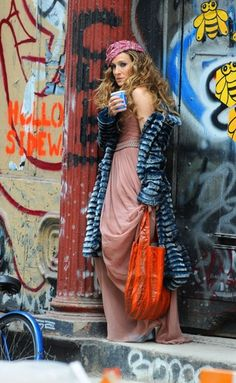 Carrie Bradshaw- even more than SJP I love Carrie. Thank you Patricia Fields