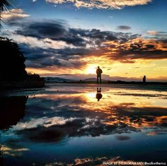 The tranquility of a Santa Barbara sunrise.