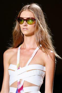 Versace, Spring 2014.