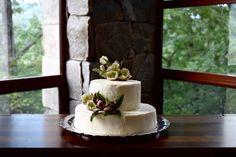 Modern Wedding Cake   Gatherings by Caroline Quinn - Lake Lure, North Carolina