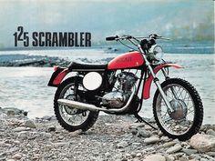 Ducati 125 Scrambler 1973