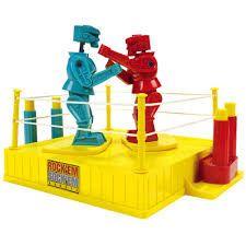 My litttle brother loved rockem' sockem' robots. from the 60's - Google Search