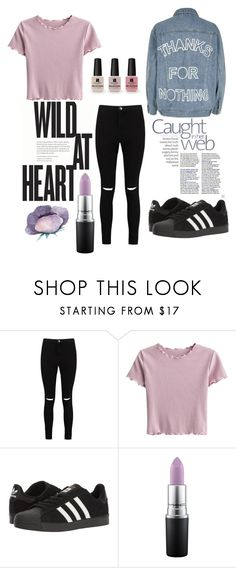 """""""Lavender - Top fashion Mar 19th"""" by lydiaclayton22 ❤ liked on Polyvore featuring Victoria's Secret, Boohoo, adidas, MAC Cosmetics and River Island"""