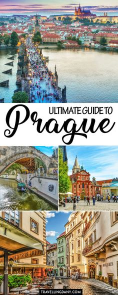 The ultimate Prague Itinerary for 2 (or fun days travel destinations 2019 Ultimate guide to Prague, capital of the Czech Republic. Includes a handy daily itinerary with tips and tricks for 4 or more days. Bonus: day trips from Prague! Top Travel Destinations, Europe Travel Tips, European Travel, Travel Guides, Places To Travel, Places To Visit, Travel Hacks, Prague Travel Guide, Nightlife Travel