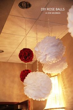 This is a super trendy wedding decor idea! Your guests will be amazed when you tell them you made them! Also can be used in place of bouquets! This kit will make 6 beautiful rose balls!  ∙ CLICK TO CUSTOMIZE AND ORDER ∙