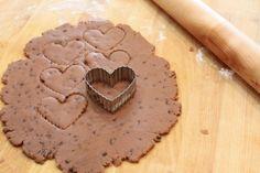 Mocha Chip Cut Out Cookie Recipe @createdbydiane