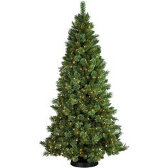 7' Pre-Lit Sheridan Pine Cashmere-Style Clear Lights Christmas Tree (£265) ❤ liked on Polyvore featuring home, home decor, holiday decorations, round ornaments, holiday tree ornaments, xmas tree ornaments and christmas tree ornaments