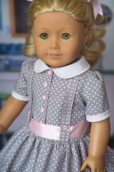 1950s Pink and Grey RESERVED by AnnasGirls on Etsy