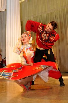 Russian folk, St. Petersburg