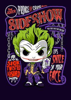 Funko Pop Display, Chibi Marvel, Jokers Wild, October Art, Pop Culture References, Evil Clowns, Otaku, Batman Universe, Alternative Movie Posters
