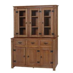 Kit Cristaleira 6 Portas Wood - Serpil