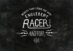 Cafe Racer by bmd design on Behance Typography Logo, Typography Design, Bordeaux, Bike Logo, Hand Drawn Type, Cafe Racer Motorcycle, Design Graphique, Type Design, How To Draw Hands