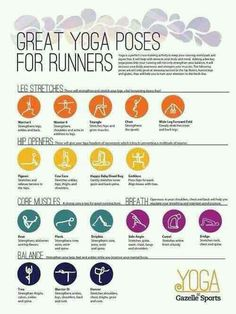 great yoga poses for runners