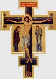 РАСПЯТИЕ 1998 о.Зинон Roman Church, Roman Catholic, Jesus Scriptures, Sign Of The Cross, Les Religions, Byzantine Icons, Holy Cross, Art Icon, Gold Work