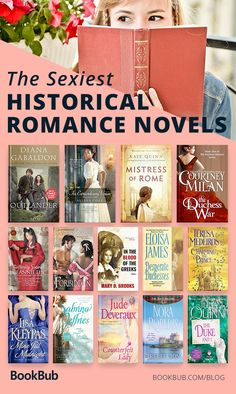 A great reading list of historical romance novels. If you're looking for books like Outlander or historical fiction with romance, look no further! Including major authors like Nora Roberts, Diana Gabaldon, Julia Quinn, and more. Best Historical Romance Novels, Good Romance Books, Romance Movies, Historical Quotes, Romance Manga, Romance Art, Romance Quotes, Regency Romance Novels, Best Books To Read