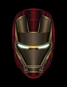 Iron Man Art Print by Nathan Owens Scroll this up and down the page. Pretty awesome.
