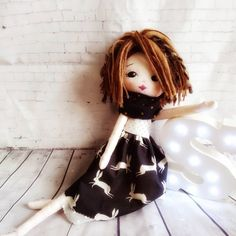 A star is born / meet Eva ✨🌸 Best Baby Gifts, A Star Is Born, Custom Dolls, Cuddling, Little Ones, That Look, Meet, Rag Dolls, Stars