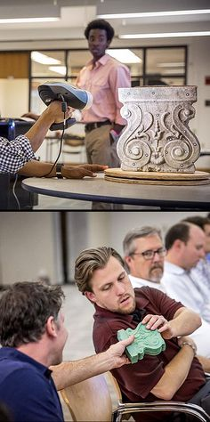 The #LSU College of Art & Design's CxC lab, through a Board of Regents grant, acquired a new 3D scanner. The scanner, along with a new CNC mill, will help students collect and manipulate data to expand their design and visual communication skills.